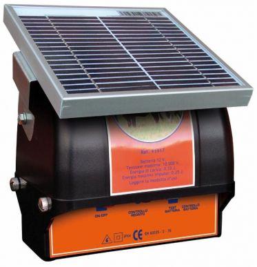 Solarelektrifizierer für Zäune 0,33 J 12 V- max. 2 km