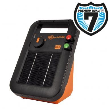 Electrificateur solaire avec batterie Modèle S10 avec batterie (6V - 0,10 J)