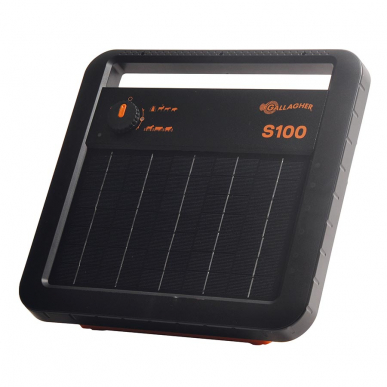 Electrificateur solaire avec batterie Modèle S100 avec batterie (12V - 1,0 J)