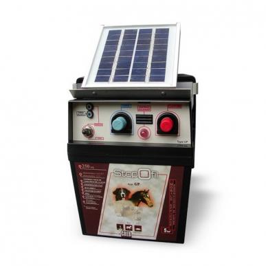 Electrificateur Type 12 V solaire (12V + solux+bat 30a)