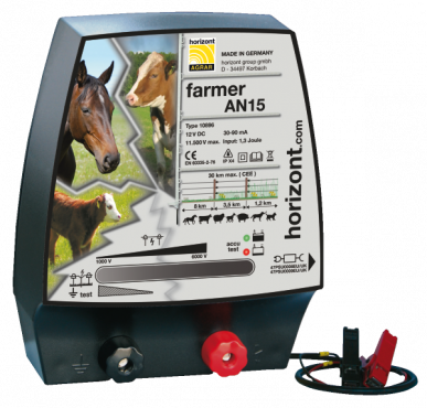 Eletcrificateur 12V farmer AN15 Dual compatible 230V (1J, 11500V)