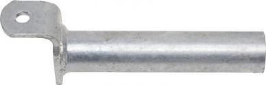 Embout, Standard pour cornadis,courbé, galvanisé