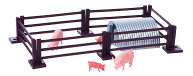 Enclos à cochon et ses cochons 1:32