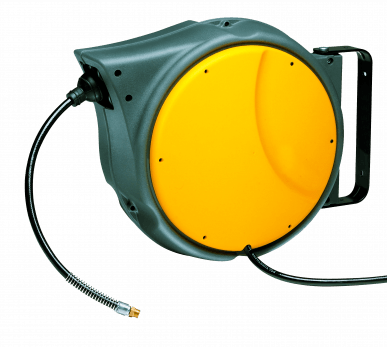 Enrouleur de câble de tuyau à rappel automatique - Air - 10 mètres - 15 bars