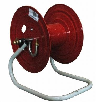 Enrouleur métallique  pour 100 m de tuyau