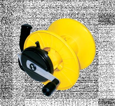 """Enrouleur rapide, avec démiltiplicateur """"TURBO ROLLER 3:1"""" avec une capacité de 800m de bobinage"""