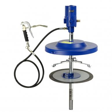 Set pompe à graisse pneumatique stationnaire