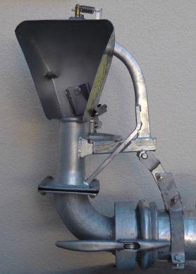 Eparpilleur pendulaire en acier inoxydable, largeur de travail max. 15 m