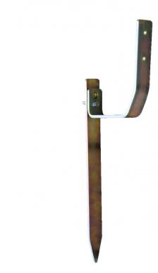 Piquet de terre complet avec piquet et pièce d'angle
