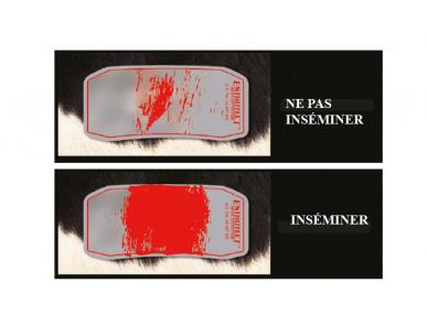 Estrotect Patchs de détection de chaleurs Rouge
