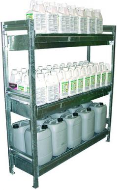 Armoire phytosanitaires  Étagère 3 niveaux