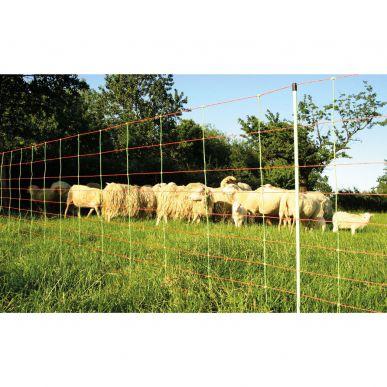Euronetz für Schafe, 50 m, 90 cm, Doppelspitze