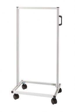 Support de déplacement pour MultiStore, gris double face, 651 x 601 x 1.280 mm - Paquet de 1 unités