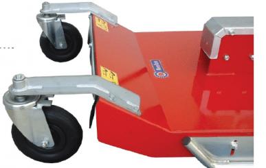 2-Messer-Mäher für den Frontanbau an 2-Rad-Traktoren LAWNMOWER RS55