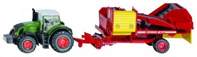 Tracteur avec arracheuse de pommes de terre Siku