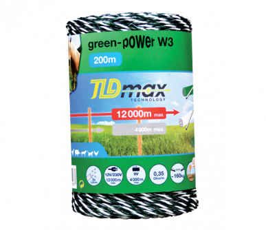"Fil 3 conducteurs TLD max Technology, ""Green Power W3"""