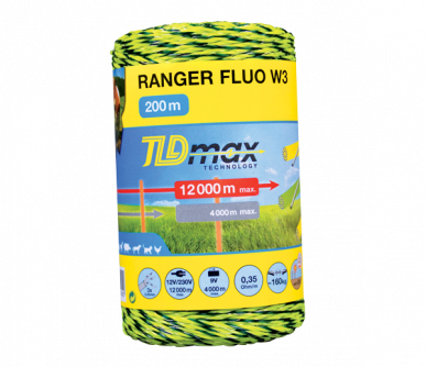 "Fil 3 conducteurs TLD max Technology, ""Ranger Fluo W3"""