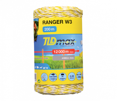 "Fil 3 conducteurs TLD max Technology ""RANGER W3-W"""