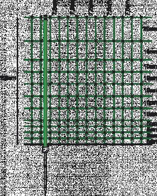 Sicherheitsnetz für Geflügel und andere Anwendungen 105cm, grün - 50m Netz mit 15 Pfählen