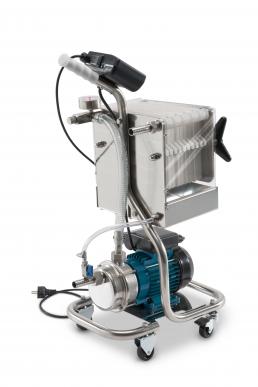 Filtre pour liquides alimentaires Crystal Pro Oil