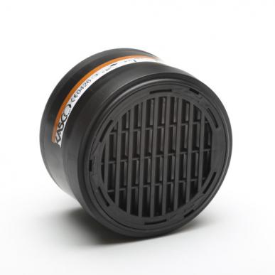 Filter für Atemschutzmaske ZA2B2P3 - Set bestehend aus 4 Filtern