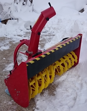 Fraise à neige SL