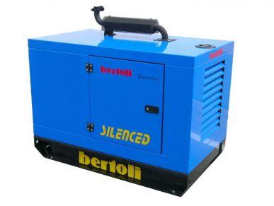 Générateur diesel avec démarrage électrique 3000 tr/min refroidissement par air monophasé