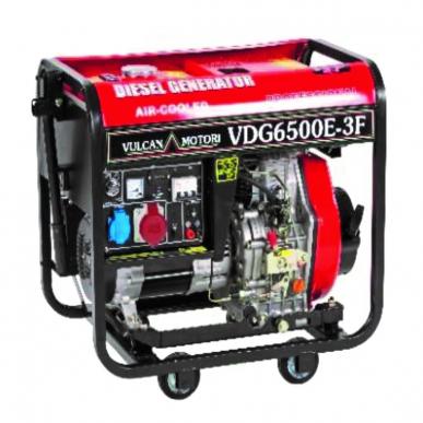 Générateur VDG 6500 E - 3 F - Générateur de courant trifase