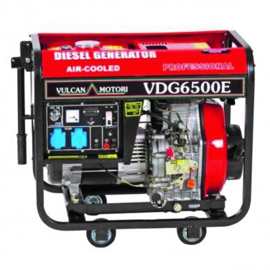 Générateur VDG 6500 E - Générateur de courant monofase - Garantie 2 ans