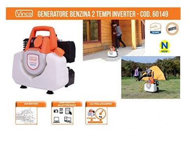 Groupe électrogène - Générateur de courant INVERTER 900W - 220V 2 temps Vinco - 60149