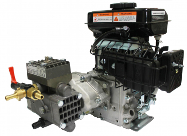 Groupe motopompe Dl218 Moteur à essence A 4 Tempi 'Mp' Rs100 1,5Kw - 2Hp