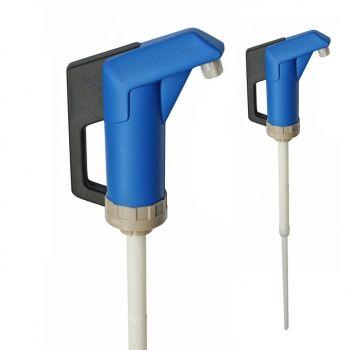 Handpumpe JP-04 blau-weiß für dünnflüssige Lebensmittel