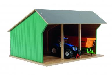 Hangar en bois KIDS GLOBE 610192 1:32