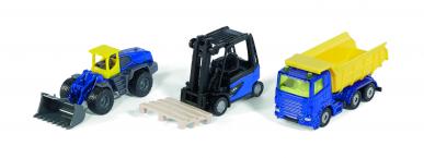 Coffret véhicules de chantier Siku 1:87