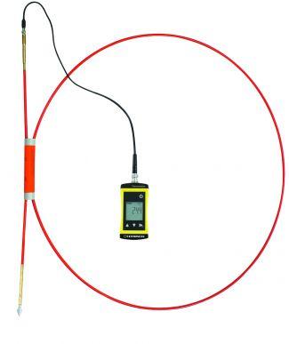 Heutemperatur-Messgerät HAYTEMP1700