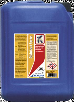 Désinfectant de surface hautement concentré sans formaldéhyde - Disinfect Forte