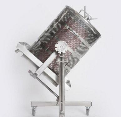 Hydropresse aus Edelstahl Wasserdruckpresse kippbar Wasserpresse