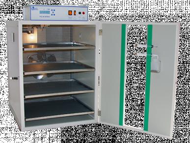 Couveuse Mg 50 Rep – Thermostat Lcd – en Acier avec humidification automatique