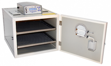 Brutmaschine Mg 50 Rep – Thermostat Lcd – Aus Stahl mit automatischer Befeuchtung