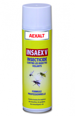 Insectiside anti-insectes volants INSAEX Aérosol 650 mL