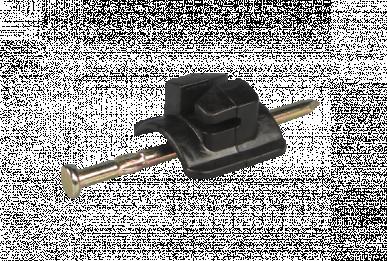 Isolateur à clou, pour fil et corde 2mm