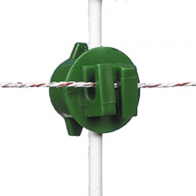 Isolateur à écrou vert ø6-14mm (250)