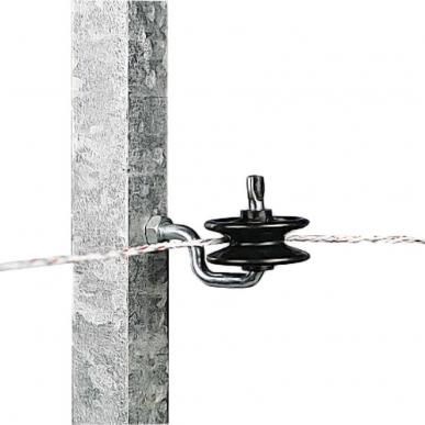 Isolateur à poulie pour piquets fer (5)