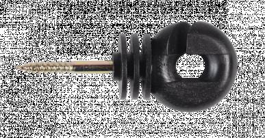 """Isolateur annulaire, avec appui ininterrompu pour ruban 10mm et cordelette 2mm, """"FARMER IS-L"""""""