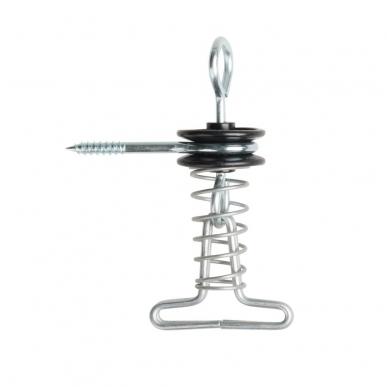 Isolateur d'ancrage avec clip à ruban (5)