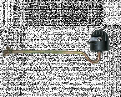 """Isolateur écarteur, pour cordelette 8mm avec filletage métrique , """"TURBOMAX ISD-8 metric"""""""