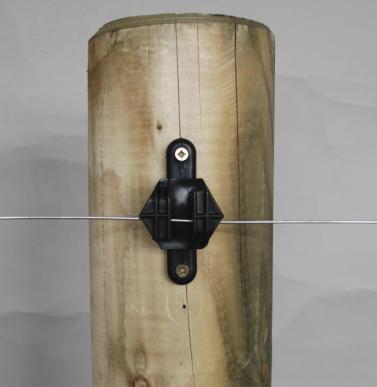"""Isolateur pour la clôture permanente, à clouer ou visser, """"HOTSTOP I-20"""""""