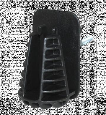 """Isolateur pour ruban 40mm à visser, avec filetage à bois, """"RANGER IS-40 FIX"""", coque de 15 pièces"""