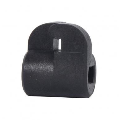 Isolateur pour système clôture bi-conducteur positif-négatif