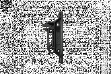 """Isolateur """"RANGER I-40 FIX"""", noir, pour ruban de 40mm"""